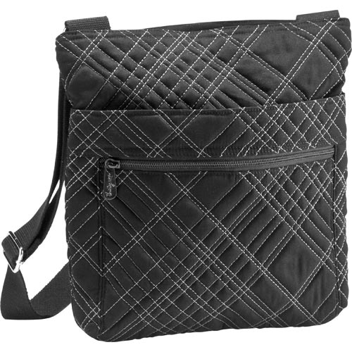 Black Quilted Pick Me Plaid