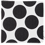 Black Spotty Dot swatch