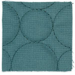 Jade Quilted Dots swatch