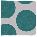 Teal Mod Dot swatch